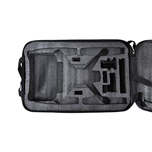 DDLmax Black ABS Hard Shell Backpack Case Bag for Hubsan H501S Quadcopter by DDLmax (Image #6)