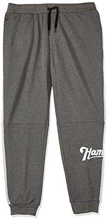 Hammersmith Men's Horton Fleece Trackpant, Grey Marle, 7XL