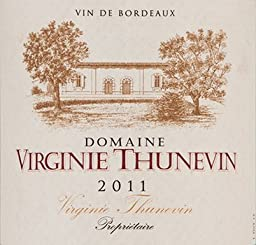 2011 Virginie Thunevin, Bordeaux, French Red Wine 750ml