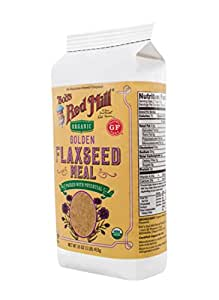 Bob's Red Mill Organic Golden Flaxseed Meal, 16 Ounce (Package May Vary)
