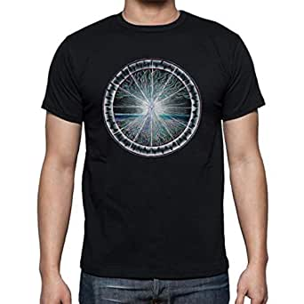 The Fan Tee Camiseta de Hombre Mandalas Buda Yoga S