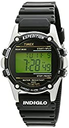 Timex Men's T77511 Expedition Watch with Black Resin Strap