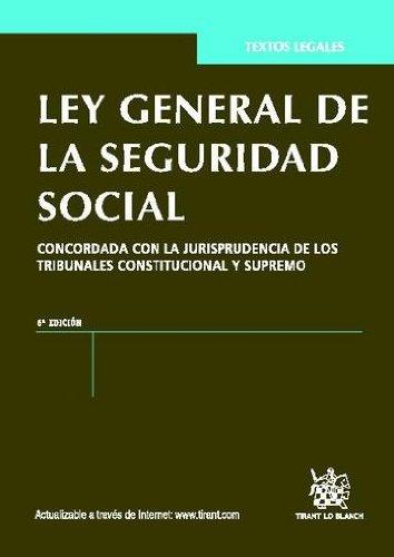 Descargar Libro Ley General De La Seguridad Social 6ª Ed. 2012 Jose Blasco Lahoz