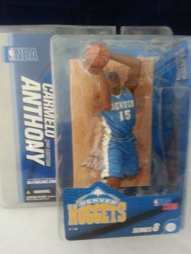 (McFarlanes Sportspicks NBA Series 8 : Carmelo Anthony CHASE / VARIANT Blue Jersey)