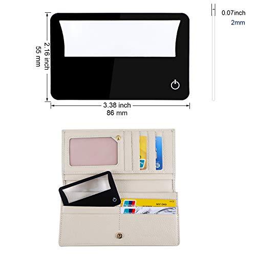 Credit Card Size Magnifier Led Light