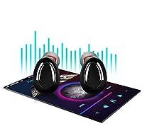 Wireless Bluetooth Headphones,Wireless Bluetooth Earbuds, MANCASSY X18 Latest Bluetooth 5.0 True Wireless Bluetooth Earbuds 3D Stereo Sound Wireless Headphones, Built-in Microphone by MANCASSY