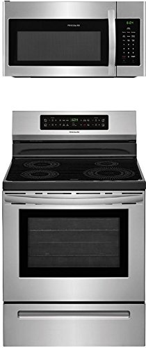 Built In Downdraft Range - Frigidaire 2-Piece Stainless Steel Kitchen Package with FFIF3054TS 30
