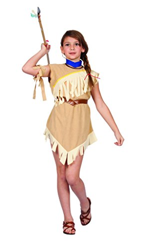 Pocahontas Costumes For Kids (Girls Pocahonta Costume)