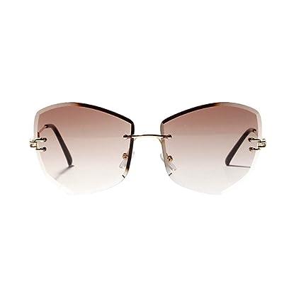 QDE Gafas de sol Gafas De Sol Progresivas De Color con Forma ...