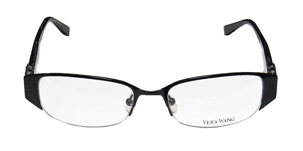 Vera Wang Eyeglasses v065ブラック49 mm   B00B71SL2K