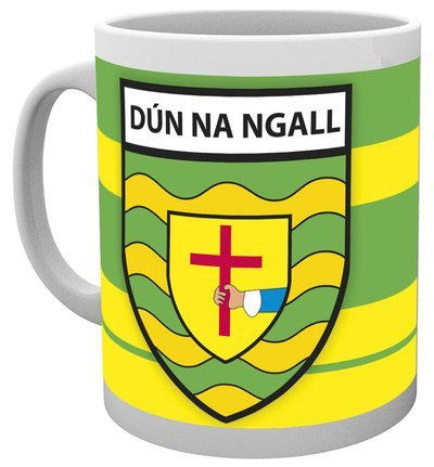 DONEGAL Official GAA Ireland County Home Style Ceramic Mug Very Rare Limited Stock