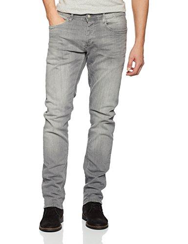 Q/S designed by Hose, Vaqueros Straight para Hombre Gris (Grey Denim 93z6)