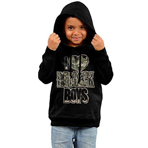 ZheuO Boys & Girls Toddler I Love Redneck Boys Particular Hoodie Hooded Sweatshirt 5-6 Toddler Black (Redneck Gift Baskets For Newborn)