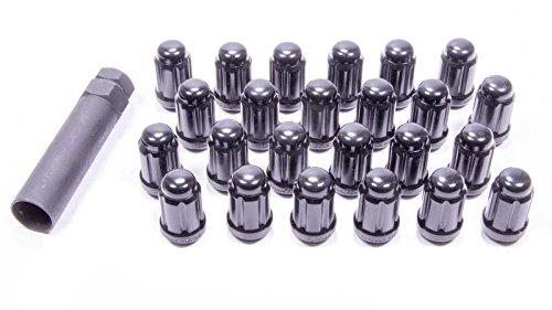 (Gorilla 21134BC Lug Nut Kit 12 x 1.50 mm Black Chrome, Set of)