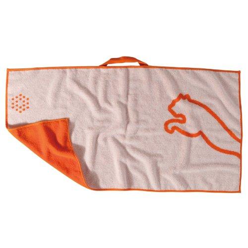 (Puma Pro Form Jacquard Cotton Golf Towel (Orange/White))
