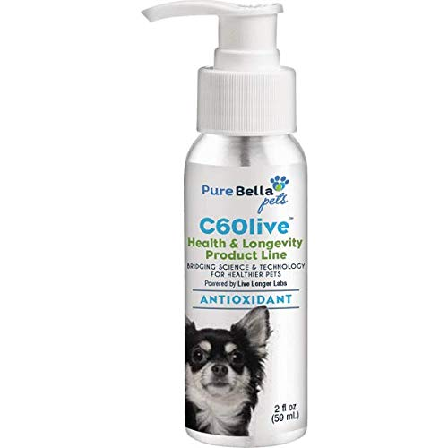 C60 Antioxidant for Small Breed Dogs 2oz
