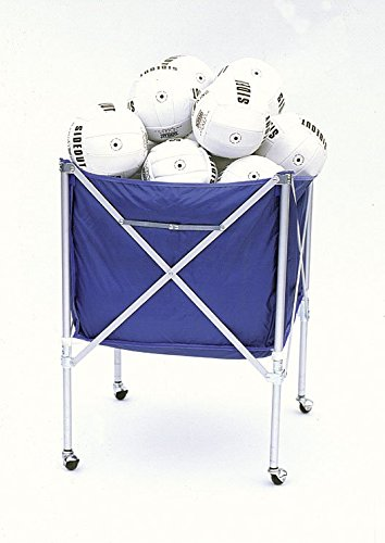 Stackhouse Competition Folding Volleyball Storage Cart (Best Seller) Pace Sporting Goods