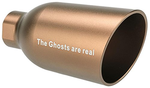 Evike - Angel Custom Diesel Amplified System for Airsoft Pistols/Rifles - The Ghosts are Real - Dark Earth / 14mm CCW - (68213)