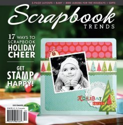 Scrapbook Trends Magazine - Scrapbook Trends Magazine December 2010 Idea Book Northridge Publishing (Volume 12 issue 12)