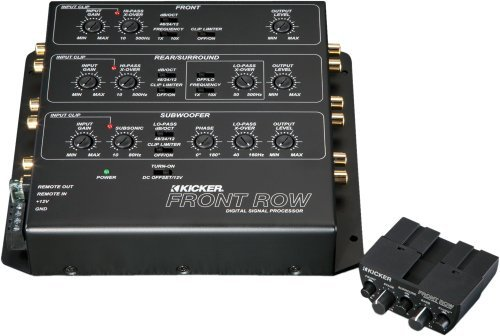 - Kicker Front Row (12 ZXDSP1) 6-Ch Digital Signal Processor