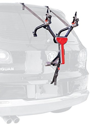 Allen Sports Ultra Compact 1-Bicycle Trunk Mounted Bike Rack Carrier, MT1