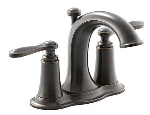Faucet Chrome 2h Lavatory (KOHLER R45780-4D1-2BZ 2H ORB LAV FAUCET)