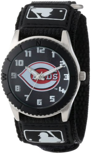 Game Time Youth MLB Rookie Black Watch - Cleveland Indians