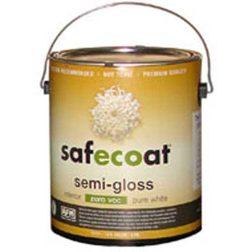 Gloss Pastel Base (Afm Safecoat Semi Gloss Pastel Base 0 Voc, White Gallon Can 1/Case by AFM)