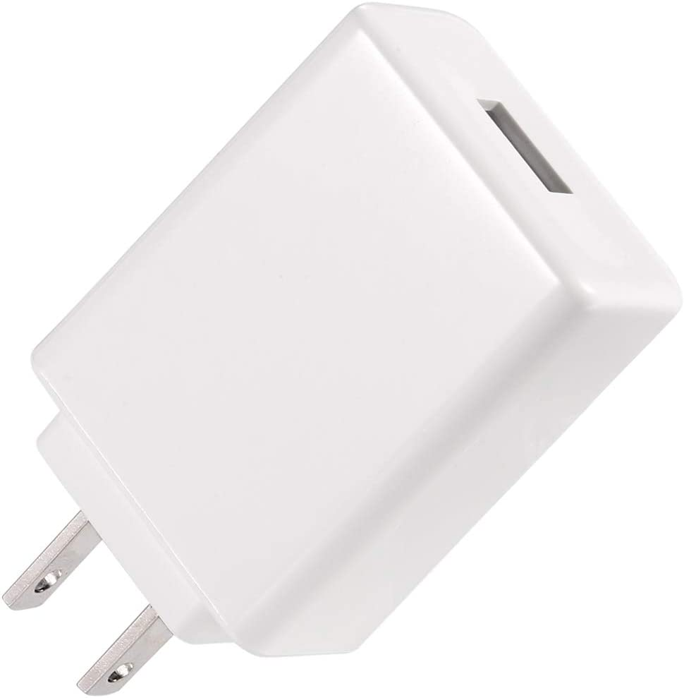 Fast Charging Block Yuxh USB Plug in Wall Charger 18W USB Faster Charger Charging Cube Compatible Fast Charger Three-Gear Automatic Charging: 5V 3A, 9V 2A, 12V 1.5A for iPhone Samsung,【UL Listed】