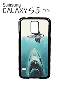 Jaws Parody Super Hero Mobile Cell Phone Case Samsung Galaxy S5 Mini White