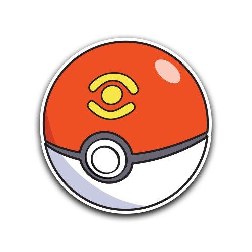 Amazon.com: SPORT BALL Decal - [CUSTOMI] Pokeball Pokemon Go Decal Sticker for Car Truck Macbook Laptop Air Pro Vinyl: Automotive