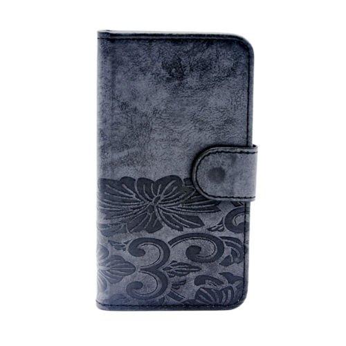 Kircher CoolPad Defiant 3632A case, Leather Wallet Flip Pouch Fold Stand case for CoolPad Defiant 3632A ()