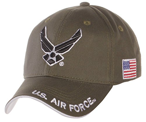 us-air-force-official-license-structured-front-side-back-visor-embroidered-hat-cap-one-size-olive-bl
