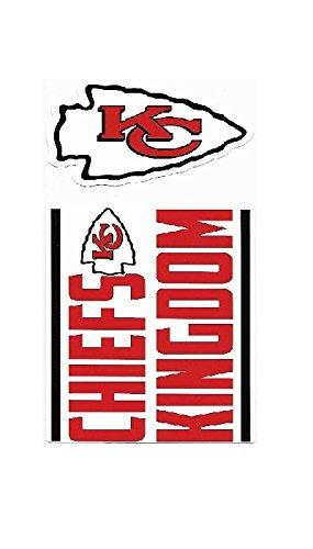 NFL Kansas City Chiefs Double Up Die Cut