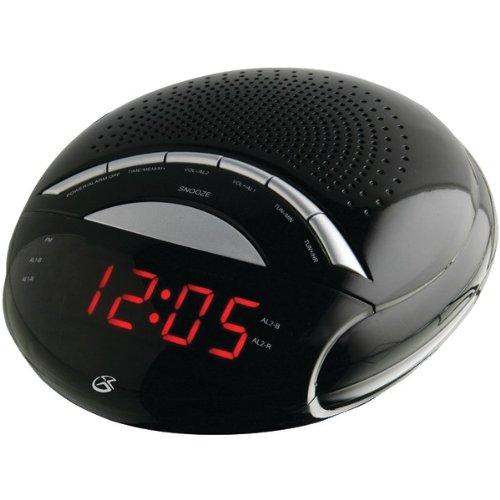 GPX C222B Gpx C222b Dual Alarm Digital Am/Fm Clock Radio