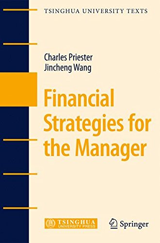 Financial Strategies for the Manager (Tsinghua University Texts)