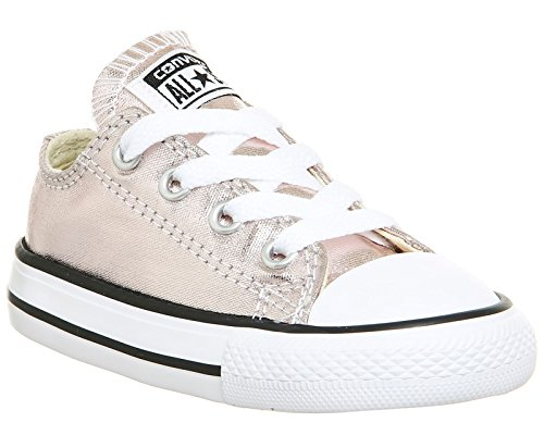 Converse Chuck Taylor All Star Ox Rose Quartz Textile Baby Trainers Rose Quartz