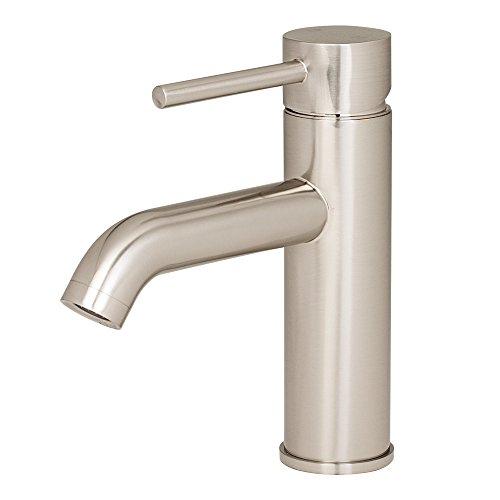 Euro Style Modern Vanity - GotHobby Euro Modern Brushed Nickel Bathroom Vessel Vanity Sink Faucet Single Hole