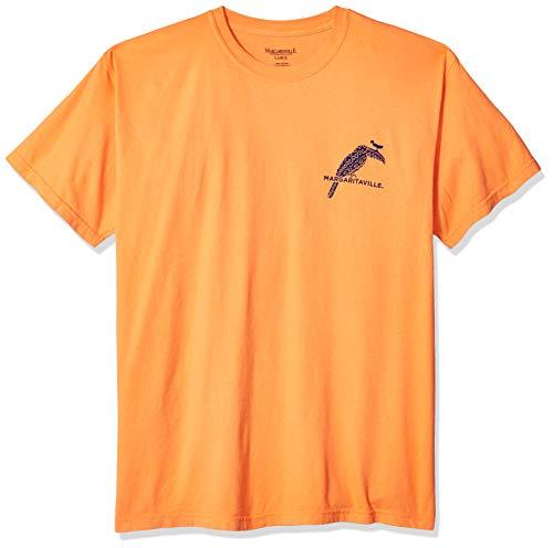 Margaritaville Men's Toucan Bill Graphic Short Sleeve T-Shirt, Burnt Orange, X-Large ()