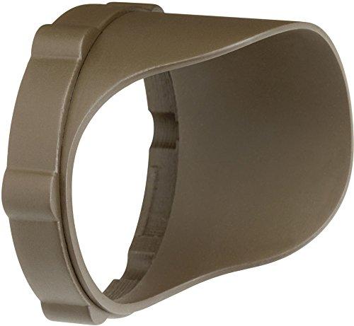 Kichler 15702AZTP Accessory Snap-on Cowl - Short 12.4W, Textured Arch Bronze Polycarbonate