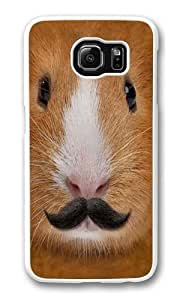 Big Face Incognito Guinea Pig Custom Samsung Galaxy S6/Samsung S6 Case Cover Polycarbonate White
