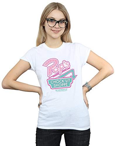 Woman Camiseta Riverdale Cult Absolute de con logo Pops blanco WqOYnqz7