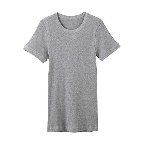 しおれた寝具瞑想する[ボディワイルド]Tシャツ リブ クルーネック メンズ BWJ413J