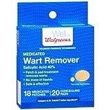 Walgreens Wart Removers, 18 ea