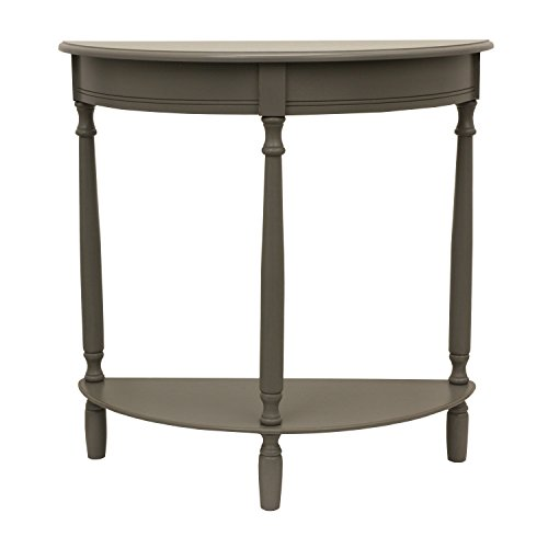Décor Therapy FR1864 End Table, Eased Edge Gray