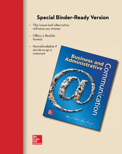 Business And Adminstrative Communication