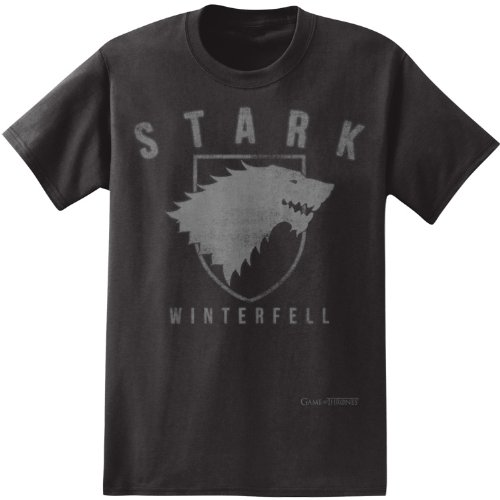 Game of thrones stark winterfell t shirt large Where can i buy game of thrones t shirts
