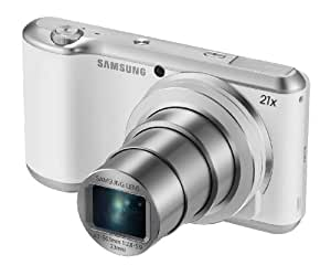"Samsung Galaxy Camera 2 16.3MP CMOS with 21x Optical Zoom and 4.8"" Touch Screen LCD (WiFi & NFC- White) (Certified Refurbished)"