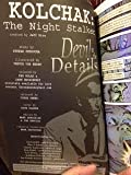 Kolchak the Night Stalker Devil In The Details (graphic novel type paperback) created by Jeff Rice