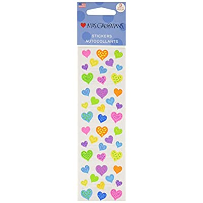 Mrs Grossman Stickers-Happy Hearts: Arts, Crafts & Sewing